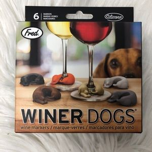 Winer dogs wine markers genuine fred